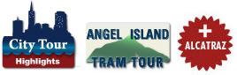 Alcatraz and Angel Island plus SF Highlights