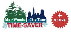 COMBO: Premium City + Muir Woods + Next Day Alcatraz