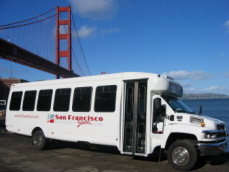 San Francisco shuttle tours
